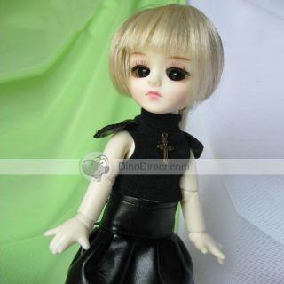 Wholesale Gorgeous Silver Short Hair Decorative Barbie Doll