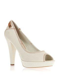 Белые туфли Pepe Jeans London TEL252 Актуальные в