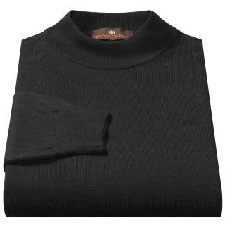 Toscano Mock Turtleneck Sweater   Italian Merino Wool (For Men) in 901