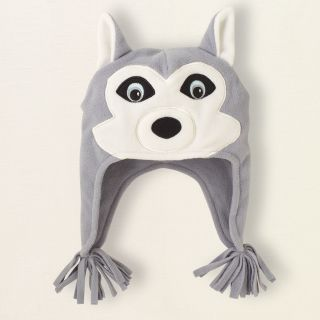 baby boy   fleece husky dog hat  Childrens Clothing  Kids Clothes