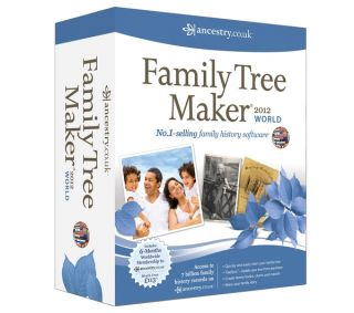 AVANQUEST Family Tree Maker 2012 World Edition Deals  Pcworld