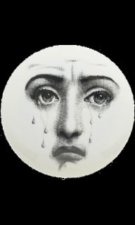 Fornasetti Theme & Variations Decorative Plate #77