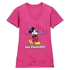 Mickey Mouse Tee for Women   San Francisco
