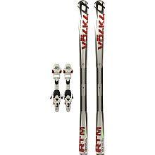 VÖLKL RTM 80 All Mountain Skis with IPT Wide Ride 12.0 Bindings