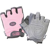 GoFit Womens Pink Pearl Tac Weightlifting Gloves   SportsAuthority