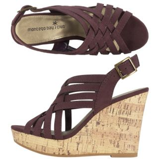 Womens   Montego Bay Club   Womens Giggy Strappy Wedge   Payless