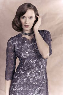 estelle embroidered lace dress by silk & sawdust