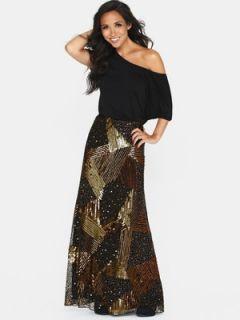 Myleene Klass Sequin Maxi Dress Very.co.uk