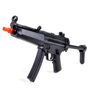 210 FPS MP5 AEG Electric Airsoft Assault Rifle w/Sample BBs BC MP52007