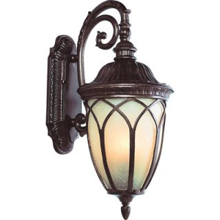 Trans Globe Lighting Acorn 23.25 Inch Outdoor Wall Mount Light   Brown