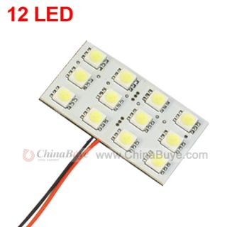12 LED 12V Auto Car Interior Dome Light Lamp   Dome   Car LED Bulbs