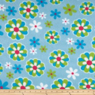 Floral Fleece Fabric   Discount Designer Fabric   Fabric