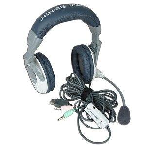 Turtle Beach Ear Force X1 USB Stereo Gaming Headphones Turtle Beach