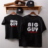 Personalized Father & Son Clothing   Big Guy and Little Guy Collection