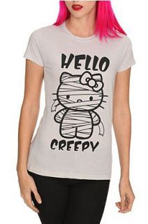 Hello Kitty Creepy Girls T Shirt   189325