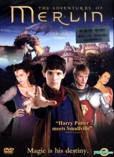 The Adventures Of Merlin (DVD) (Season 1   Ep.9 13) (Hong Kong Version