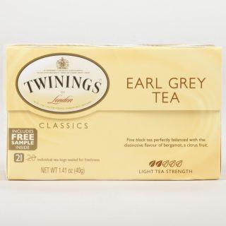 Twinings Earl Grey Tea, 20 Count Box  World Market