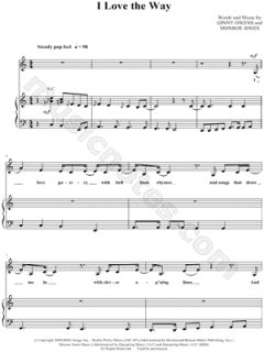 Image of Ginny Owens   I Love the Way Sheet Music   Download & Print