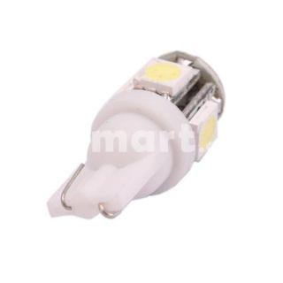 5050 T10 90 Lumens 5 SMD LED Wedge Car Turn Light Lamp   Tmart