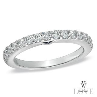 Vera Wang LOVE Collection 1/2 CT. T.W. Diamond Anniversary Band in 14K