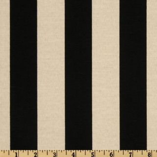 Maco Indoor/Outdoor Bouquet Stripe Black/Beige   Discount Designer