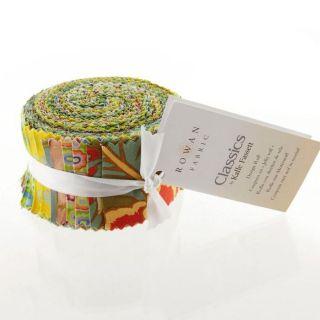 Kaffe Fassett 2 1/2 Design Roll Green   Discount Designer Fabric