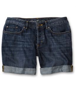 Classic Five Pocket Boyfriend Roll Up Shorts  Eddie Bauer