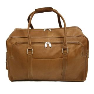 Piel Leather Half Moon Duffel Bag at Brookstone—Buy Now