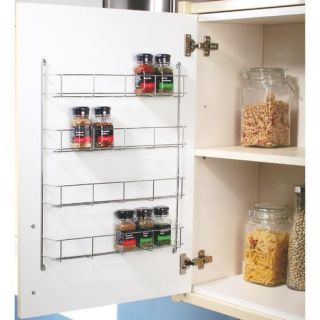Rubbermaid pull down spice rack storage bin kitchen cabinet cook jar for 50cm kitchen cabinets