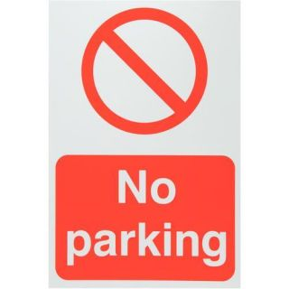 No parking Sign   Health & Safety Signs   Workwear  Tools, Electrical