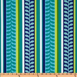 Richloom Solarium Outdoor Pike Stripe Azure   Discount Designer Fabric