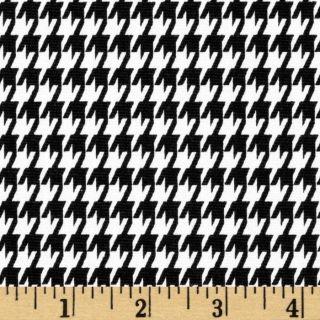 Premier Prints Houndstooth Black/White   Discount Designer Fabric