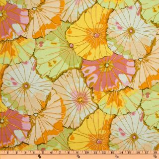 Kaffe Fassett Lotus Leaf Jade   Discount Designer Fabric   Fabric