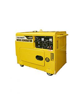 Pro Series 7000 Watt Quiet Standby Diesel Generator   1000816