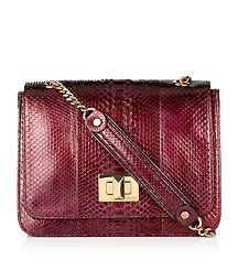Emilio Pucci Python Square Shoulder Bag