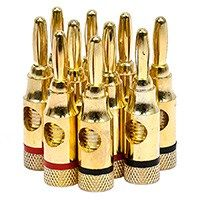 Product Image for 5 PAIRS OF High Quality Copper Speaker Banana Plugs