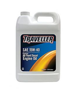Traveller® Premium All Fleet 15W 40 Diesel Engine Oil, 1 gal