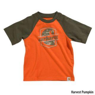 Carhartt Toddler Boys Raglan Camo C Short Sleeve Tee (Style CA8187