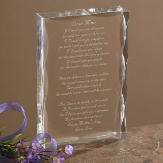 1008   Dear Mom Poem Personalized Keepsake   Example Two