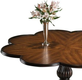 Marais Scalloped Coffee Table   Coffee Tables   Living Room Furniture