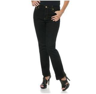Diane Gilman DG2 Denim Boot Cut Jeans BLACK Size 22W