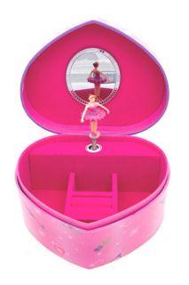 Girls Kids Childrens Pink Lucy Locket Heart Musical Jewellery Trinket