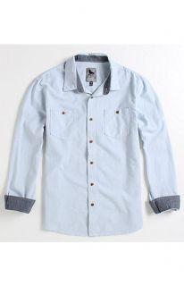Modern Amusement Neo Chambray Long Sleeve Woven Shirt at PacSun