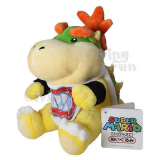 GENUINE Nintendo Super Mario Bros Bowser Jr Plush Figure Doll Toy