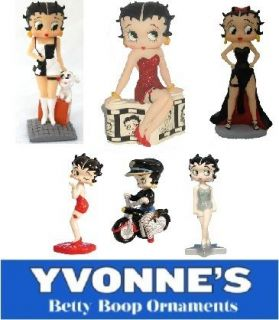 Betty Boop Figurines Figures Mini Ornaments & Bobble Heads New & Boxed