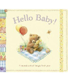 ELC Hello Baby Record Book   books, albums & frames   Mothercare