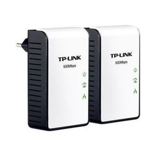 MacMall  TP Link TL PA411KIT AV500 Mini Powerline Adapter Starter Kit