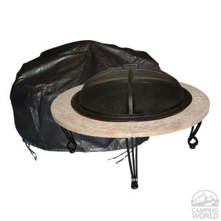 Round Fire Pit Cover   Well Traveled Living 02126   Fire Pits