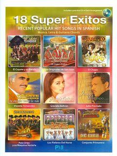 Look inside 18 Super Exitos   Sheet Music Plus