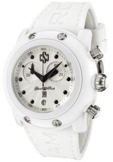 Glam Rock GK1152 Watches,Miami Beach Chronograph Silver Guilloche